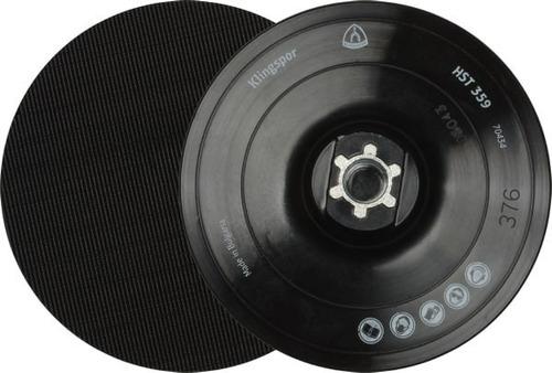 plato soporte p/fibra c/velcro 115 m14 + 5 discos de abrojo