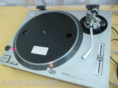 plato technics sl1200 mk2 tocadiscos direct drive leer descr