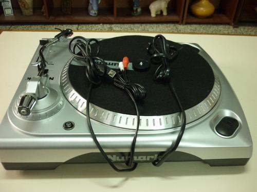 plato tocadiscos numark ttusb-digitalizador- nuevo-