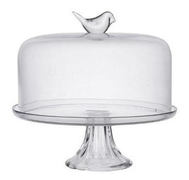 plato torta c/campana bird okko