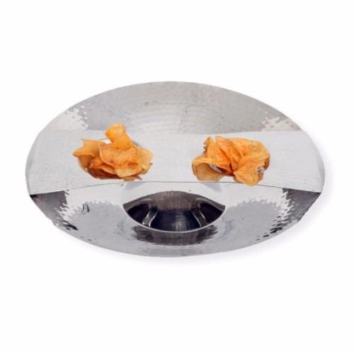 platón botanero de acero inoxidable diseño bowl namaro