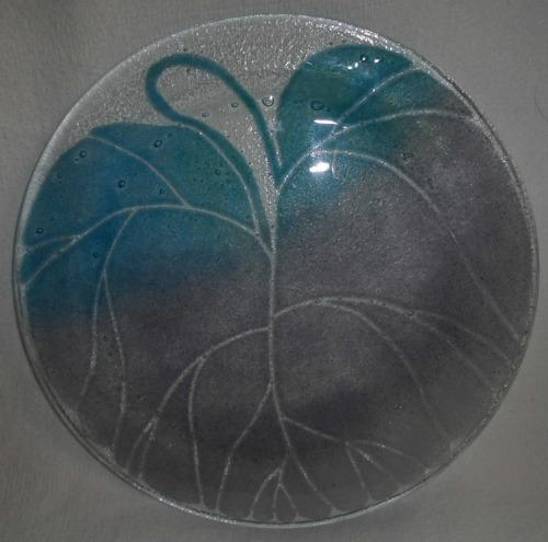 platones de cristal en perfecto estado remate liquidación