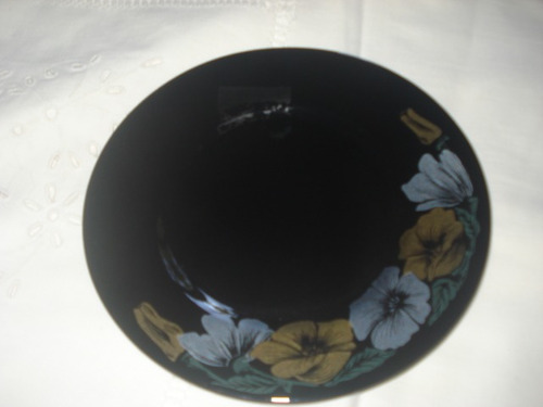 platos arcoroc negros