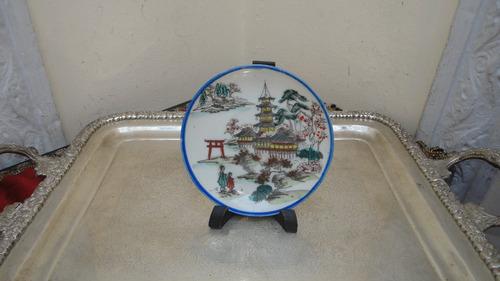 platos con diseño oriental porcelana tsuji y japan vealos