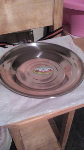 platos de aluminio