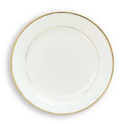 Platos de ceramica de 10 39 39 para sublimacion bordes dorados for Platos de ceramica