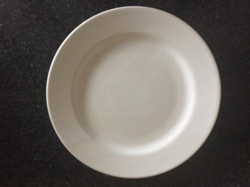 platos de loza para restaurante lote de 40 juegos de 5 pzas