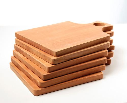 platos de madera