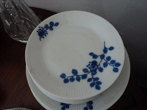 platos de porcelana verbano (postre y playos)