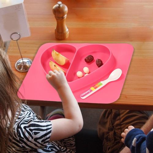 ¡platos de silicona antideslizantes para nuestros niños!