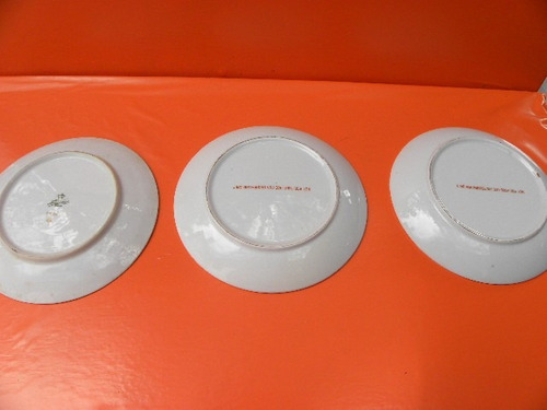 platos decorativos 17 cm diametro