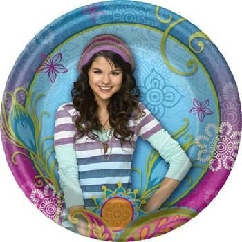 platos desechables pequeños hechiceros waverly place