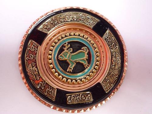 platos en cobre
