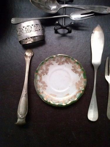 platos ingleses antiguos de colección mesa decoración