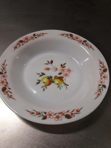 platos opalinados arcopal franceses nuevos impecables (b)