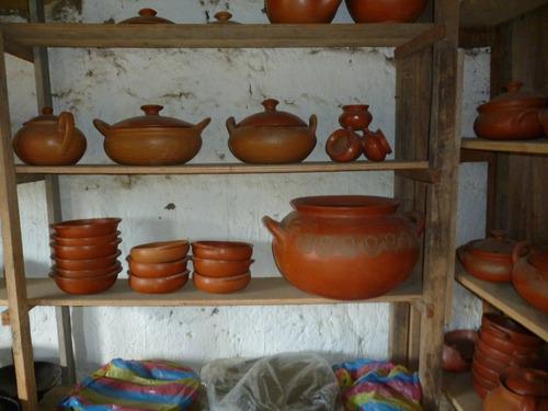 platos para sopa y para arroz de barro
