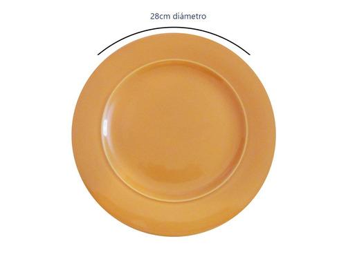 platos playos cerámica