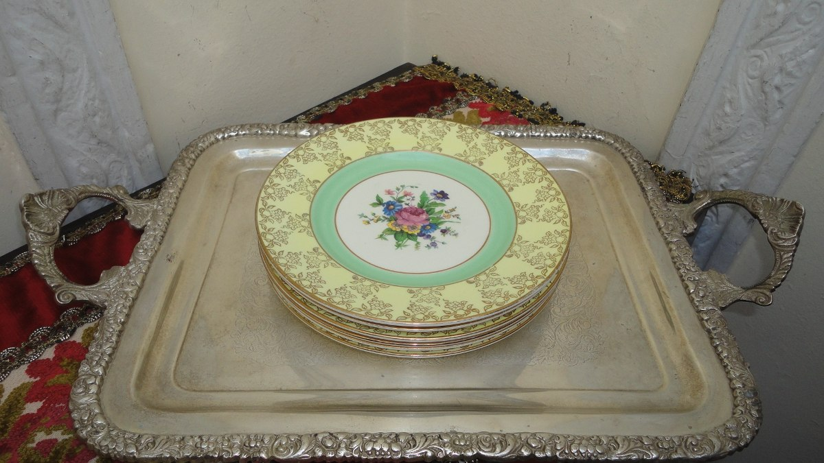 Platos postre launch porcelana inglesa antigua divino - Porcelana inglesa antigua ...