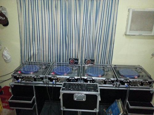 platos technics mk2 tornamesa mixer mezclador