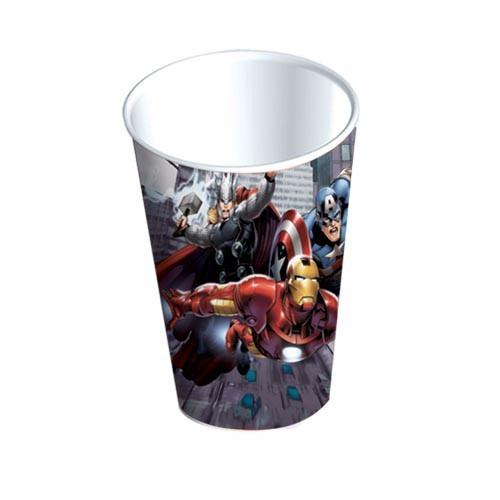 platos vasos desechables todo para fiesta avengers