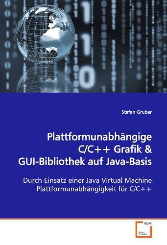 plattformunabhängige c/c++ grafik: durch einsatz einer java