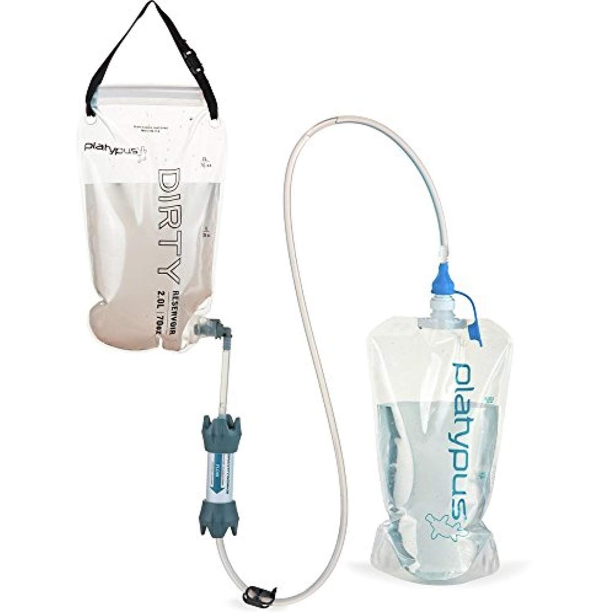 Platypus Manguera 2,0 Litro Acampada y senderismo Accesorios para mochilas