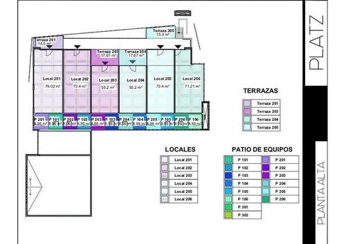 platz: plaza comercial en pre venta sobre avenida cantera