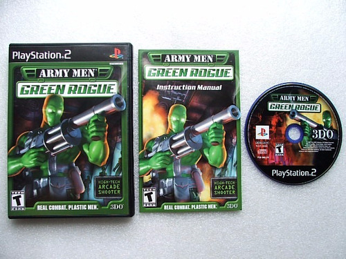 play 2: army men real time strategy americano completo!!
