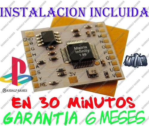 play 2 chip matrix 1,99 ps2 chipeo incluido garantia 6 meses