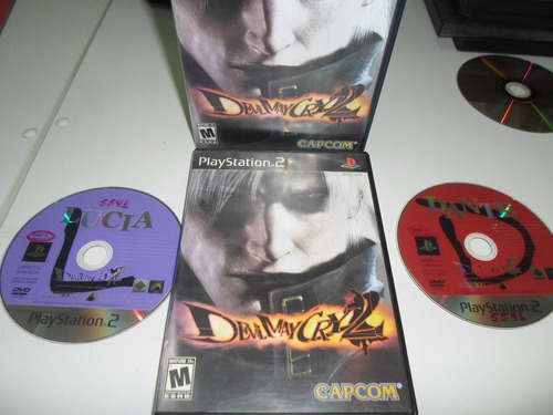 play 2 devil may cry 2 disco duplo original semi-novo