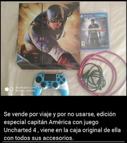Play 4 Exelente Estado Con Juego Uncharted