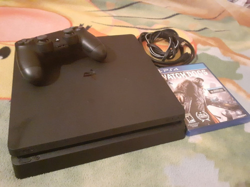 play 4 slim 500gb un juego un control impecable