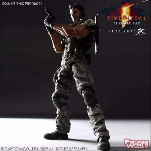 play arts kai 5 resident evil 5 chris redfield biohazard