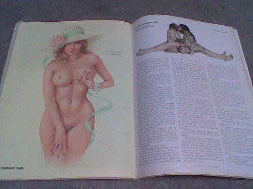 play boy año 1975 pin ups chicas de vargas
