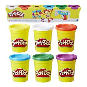 Play Doh 6 Colores Masas Plasticina Hasbro