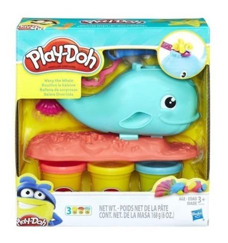 play-doh ballena divertida original hasbro