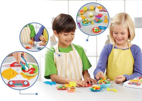 play-doh creaciones a la sarten b9014 (4249)