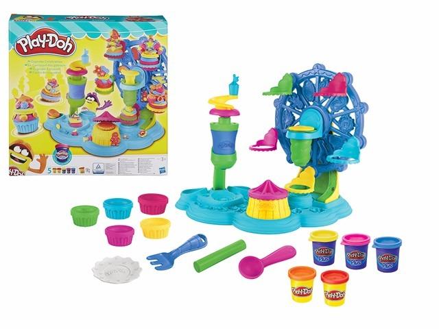 ... play doh cupcake celebration b1855 set masa hasbro educando