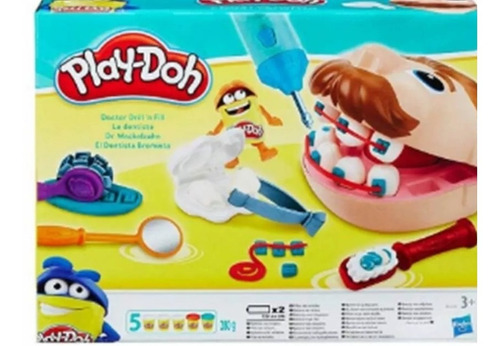 play doh dentista bromista.