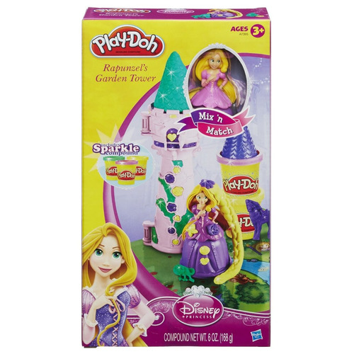 play-doh disney princess rapunzel's tower playset