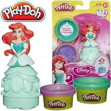play doh figura princesa ariel  moldear hasbro a7402 orig