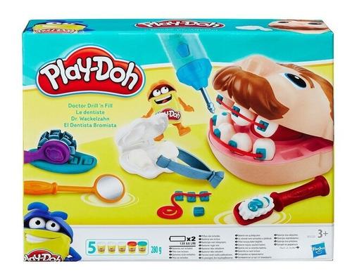 play doh juego de masa el dentista bromista hasbro me full