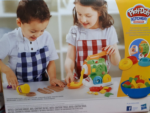 play doh kitchen creations fábrica de pasta