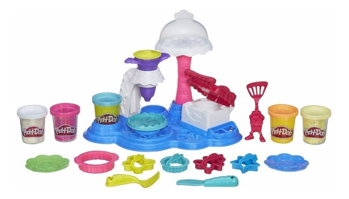 play-doh kitchen creations fiesta de pasteles (1264)