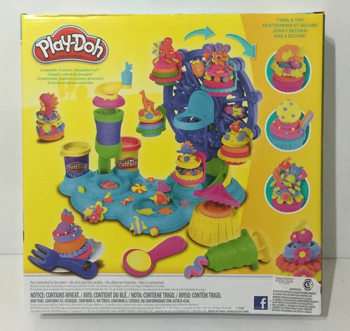 ... play doh masas cupcake celebration b1855