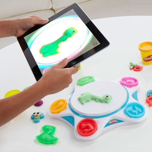 play doh massinha de modelar touch estúdio hasbro c2860 + nf