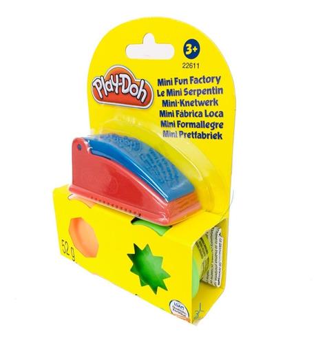 play doh mini fabrica loca con 2 masas moldeables hasbro