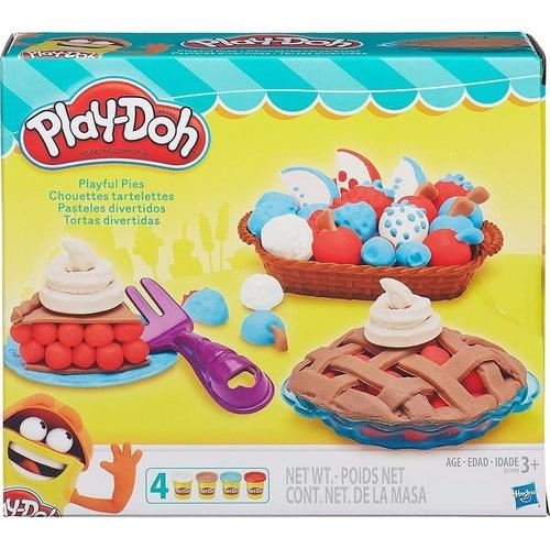 play-doh tortas divertidas - hasbro b3398