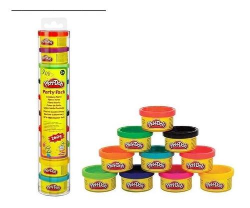 play doh tubo mini latas party pack hasbro ref. 22037