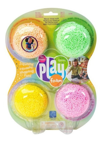 play foam sparkle x 4 unidades masa 1910 educando